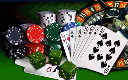 online gambling in casino